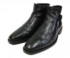 ECCO(エコ)の古着「バックルサイドジップブーツ」|ブラック