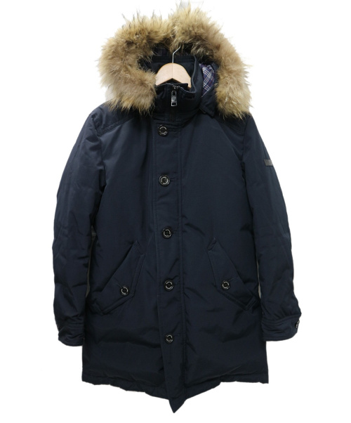BLACK LABEL CRESTBRIDGE(ブラックレーベルクレストブリッジ)BLACK LABEL CRESTBRIDGE (ブラックレーベルクレストブリッジ) ダウンコート ネイビー サイズ:M 51F29-230-28の古着・服飾アイテム