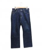 SAMURAI JEANS(サムライジーンズ)の古着「SA610XJ鉄馬デニムパンツ」 インディゴ