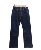 SAMURAI JEANS(サムライジーンズ)の古着「17oz左綾蒼刀デニムパンツ」|インディゴ