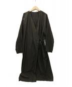 RIPPLE YoHINTEN(リップルヨウヒンテン)の古着「ガウンコート」|ブラウン
