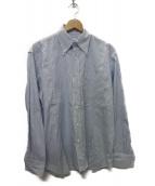 KAIKO(カイコー)の古着「BUG STRIPE SHIRT シャツ」|スカイブルー