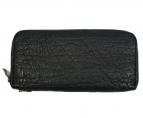 BACKLASH(バックラッシュ)の古着「エレファントレザー長財布」|ブラック