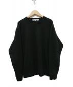 CDG(コム・デ・ギャルソン)の古着「バックロゴクルーネックスウェット」|ブラック