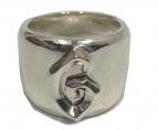 GARNI(ガルニ)の古着「Ivy Ring シルバーロゴリング」