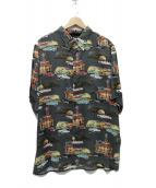 reyn spooner(レインスプーナー)の古着「アロハシャツ」|グレー
