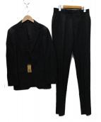 COMME CA MEN(コムサメン)の古着「2Bスーツ」|チャコールグレー