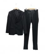 COMME CA MEN()の古着「2Bスーツ」|ブラック