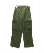 US ARMY(米軍)の古着「60'sジャングルファーティングパンツ」|カーキ