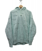 Supreme(シュプリーム)の古着「cutout letters hooded sweatパーカ」|ミント