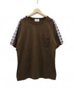 KUON(クオン)の古着「× WISM EX TEE Tシャツ」|ブラウン