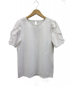 ANAYI(アナイ)の古着「スーピマーコットンポンチフリルプルオーバー」|ホワイト