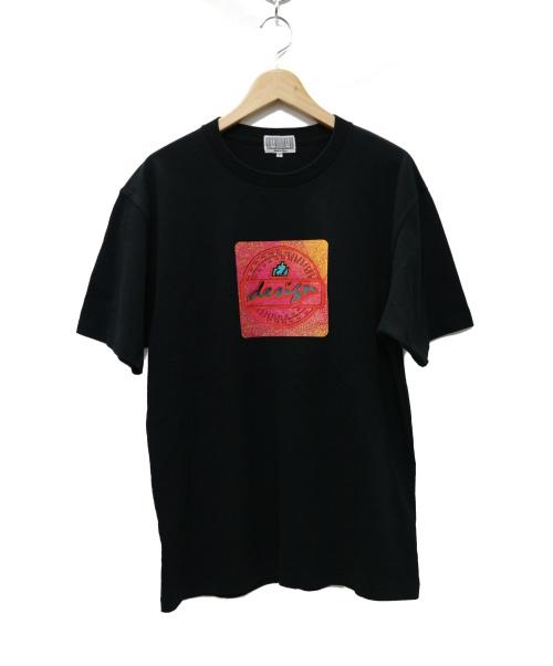 C.E(シーイー)C.E (シーイー) DESIGN LIGHTER T Tシャツ ブラック サイズ:Lの古着・服飾アイテム