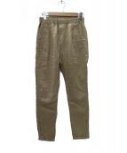 nonnative(ノンネイティブ)の古着「PILGRIM EASY PANTS LINEN パンツ」|ベージュ