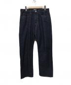 JAPAN BLUE(ジャパンブルー)の古着「CIRCLEクラシックストレート デニムパンツ」 インディゴ