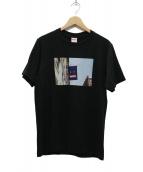 Supreme(シュプリーム)の古着「Banner Tee Banner Tee Tシャツ」|ブラック