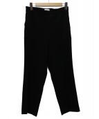 Deuxieme Classe(ドゥーズィエムクラス)の古着「バックサテンパンツ」|ブラック