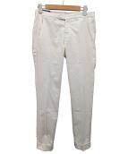 CORTILE(コルティーレ)の古着「トラウザーパンツ」|ホワイト