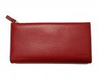 CK Calvin Klein(カルバンクライン)の古着「L字ファスナー長財布」|レッド