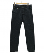 JAPAN BLUE(ジャパンブルー)の古着「Surge Tapered Pants 杢サージパンツ」 インディゴ