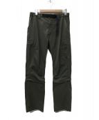 MAMMUT(マムート)の古着「Tuff Light 3/4 2in1 Pants パンツ」 カーキ