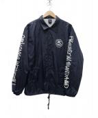 STUSSY(ステューシ)の古着「SS-LINK COACH JACKET コーチジャケット」|ネイビー