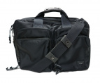 LUGGAGE LABEL(ラッゲジレーベル)の古着「2WAY ブリーフケース ビジネスバッグ」|ブラック