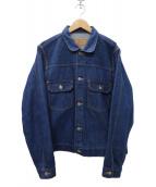 PHINGERIN(フィンガリン)の古着「JEANS PG1 DENIM デニムジャケット」|インディゴ