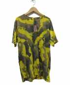 BROWN by 2-tacs(ブラウン バイ ツータックス)の古着「BAA#1 POCKET Tシャツ」|イエロー