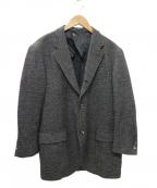 VAN(ヴァン)の古着「ツイード3Bジャケット」|グレー