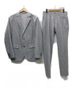 EPOCA UOMO(エポカウォモ)の古着「クールドッツプリント セットアップスーツ」|グレー