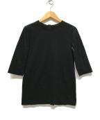 SHE TOKYO(シートーキョー)の古着「sabrina5.5分袖Tシャツ」|ブラック