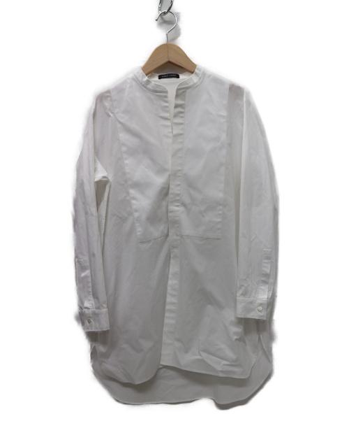 YOKO CHAN(ヨーコチャン)YOKO CHAN (ヨーコチャン) カットオフシャツ ホワイト サイズ:38 19SSの古着・服飾アイテム