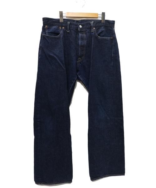 DENIME(ドゥニーム)DENIME (ドゥニーム) 501XX最終型 デニムパンツ インディゴ サイズ: 36 旧ドゥニーム オリゾンティ Vステッチ 紙パッチ 隠しリベット無 の古着・服飾アイテム