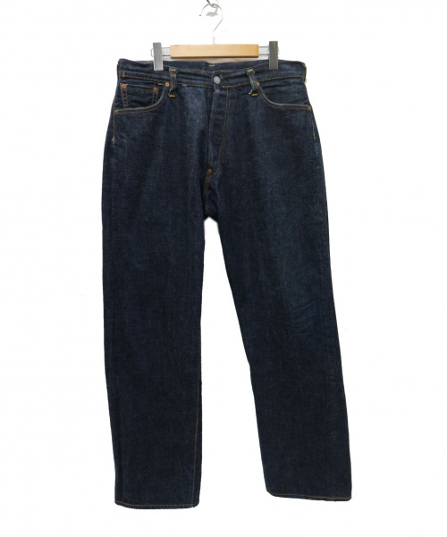 EVISU(エヴィス)EVISU (エヴィス) 2501RXX  No.1 SPECIAL デニムパンツ インディゴ サイズ:36/35 初期 カモメ刺繍ステッチ エビスヤデタブの古着・服飾アイテム