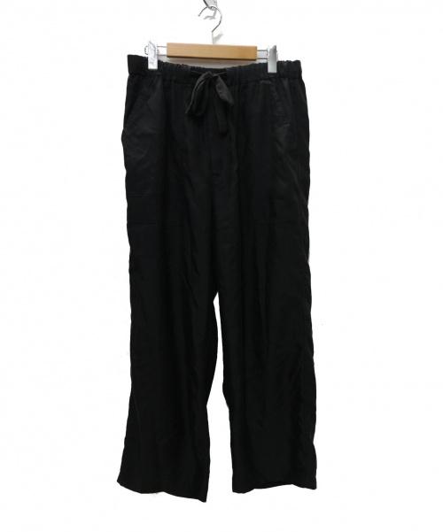 Graphpaper(グラフペーパー)Graphpaper (グラフペーパー) CUPRA BAKER PANTS パンツ ブラック サイズ:2の古着・服飾アイテム