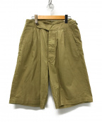 KAPTAIN SUNSHINE()の古着「Riviera Short Pants パンツ」 ベージュ