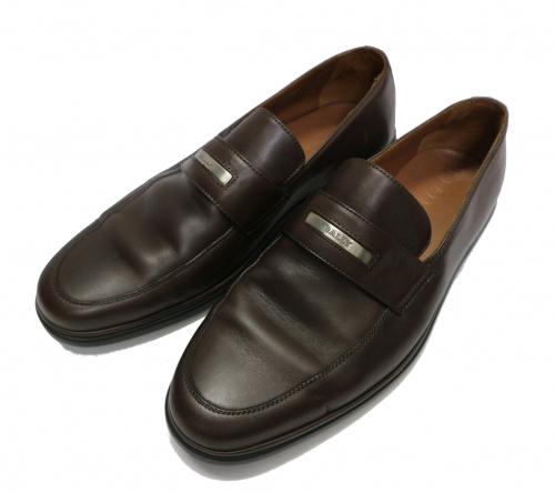 BALLY(バリー)BALLY (バリー) ESTEPANI ローファー ブラウン サイズ:UK:8の古着・服飾アイテム