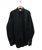 Vivienne Westwood man(ヴィヴィアンウエストウッドマン)の古着「19SS オーブシャツ」|ブラック