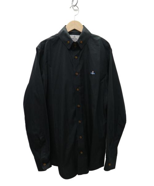 Vivienne Westwood man(ヴィヴィアンウエストウッドマン)Vivienne Westwood man (ヴィヴィアンウエストウッドマン) 19SS オーブシャツ ブラック サイズ: 48  19SS  s25dl0432の古着・服飾アイテム