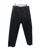 SHINYA KOZUKA(シンヤコズカ)の古着「Work Trousers With Dickies パンツ」|ブラック