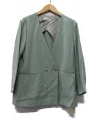 ()の古着「20SS RAギャバジャケット」|グリーン