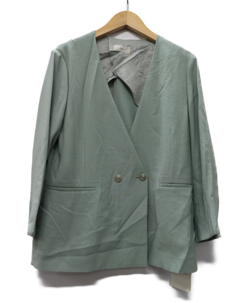 IENA(イエナ)IENA (イエナ) 20SS RAギャバジャケット グリーン サイズ:38  20年SSモデル 20010900801010の古着・服飾アイテム