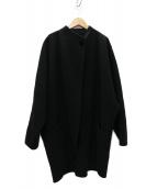 MARC JACOBS(マークジェイコブス)の古着「18AW ランウェイ着用 COCOON COAT コート」 ブラック