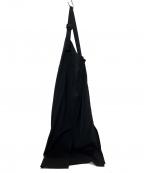 COEL(コエル)の古着「20SS ラップ風ジャンパースカート」 ブラック