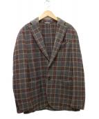 L.B.M.1911(エルビーエム1911)の古着「2Bジャケット」 ブラック×ブラウン