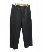 Phlannel(フランネル)の古着「20SS Chambray Wide Trousersパンツ」 グレー