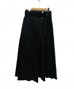 foufou(フーフー)の古着「トレンチフレアスカート」 ブラック