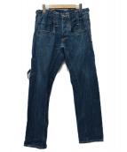 LEVIS RED(リーバイスレッド)の古着「08AW ボクシーストレートデニムパンツ」|インディゴ