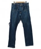 LEVIS RED(リーバイスレッド)の古着「08AW ボクシーストレートデニムパンツ」 インディゴ